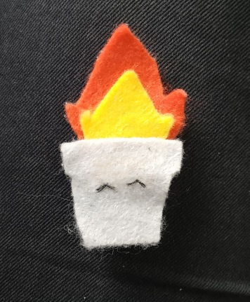 trashfire badge
